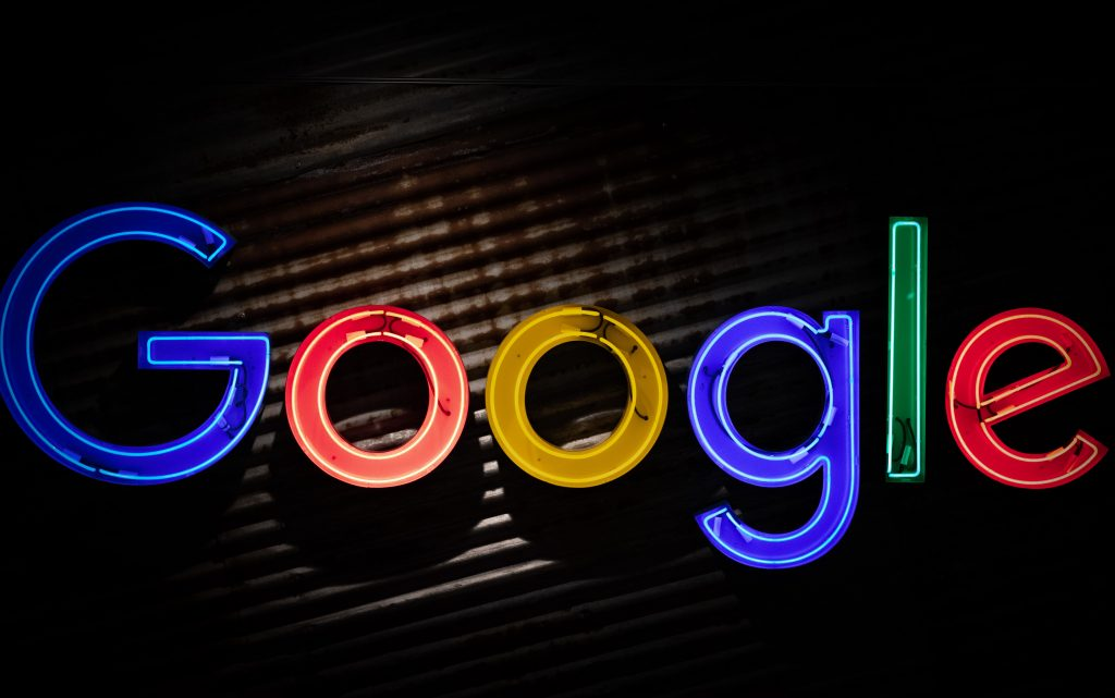 Light Up Google Neon Sign